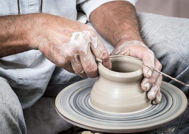 Ruční výroba keramiky